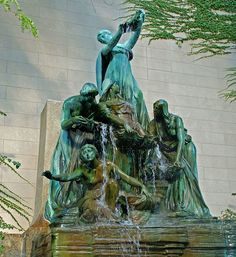 Fountain of the Great Lakes by Lorado Taft (circa 1910) by ihynz7, via Flickr