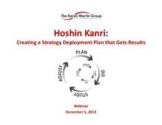 Demystifying the Hoshin Kanri X Matrix
