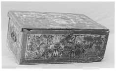 Box Date: 16th century Culture: Swiss Medium: Wood, painted Dimensions: 17 x 7 in. (43.2 x 17.8 cm) Classification: Woodwork-Furniture Credit Line: Rogers Fund, 1908 Accession Number: 08.181.30