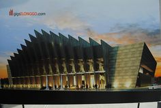 Iloilo Convention Center Soon to Rise at Iloilo Business Park Convention Centre, Philippines, Opera House, Illustrations, Park, Business, Travel, Beautiful, Viajes