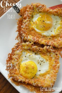 Combine three breakfast staples (eggs, cheese, and toast) into one gooey, baked morning meal. Get the recipe at Crazy Adventures in Parenting. NEXT: 13 Insanely Easy Breakfast Casserole Recipes That Will Let You Sleep In