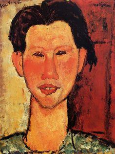 Amedeo Modigliani: Chaim Soutine (1916)