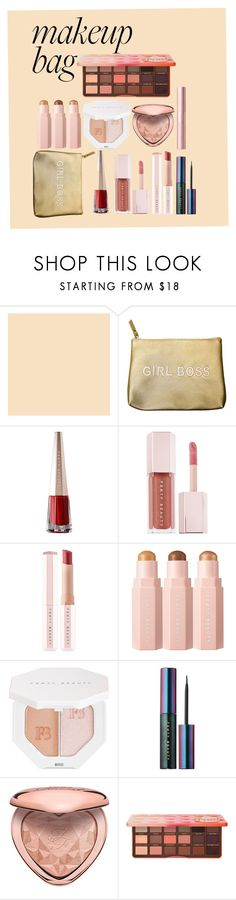 """""""#PolyPresents: Sparkly Beauty"""" by lilacsunsets ❤ liked on Polyvore featuring beauty, Secret Service Beauty, Puma, Too Faced Cosmetics, contestentry and polyPresents"""