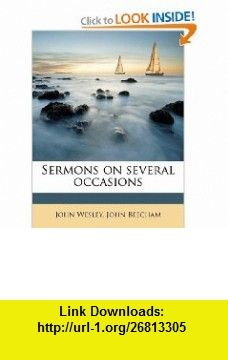 Sermons on several occasions (9781245208536) John Wesley, John Beecham , ISBN-10: 1245208535  , ISBN-13: 978-1245208536 ,  , tutorials , pdf , ebook , torrent , downloads , rapidshare , filesonic , hotfile , megaupload , fileserve