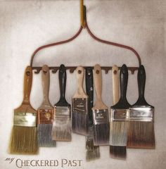 32 Wonderful Uses for an Old Iron Rake - Crafts a la mode