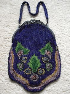 Vintage 1920s Beaded Evening Purse  http://www.etsy.com/listing/53410783/vintage-1920s-beaded-evening-purse
