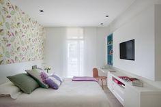 QUARTO - Projeto da designer de interiores Roberta Devisate - Post: Casa Vogue