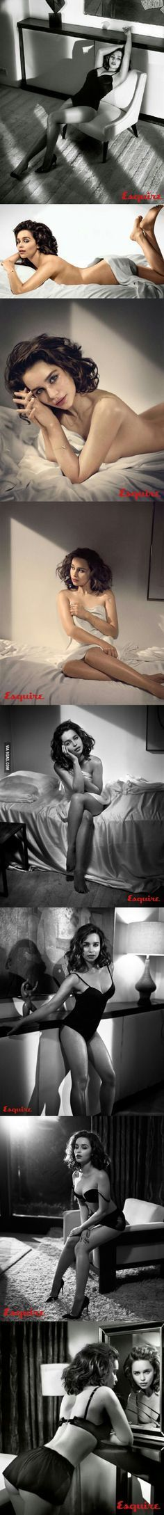 Emilia Clarke - Mother of Dragons?