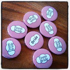 Wedding badges  - Button badges