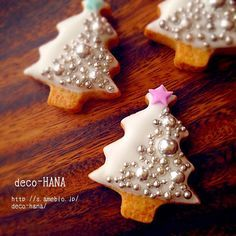 Christmas silver cookies