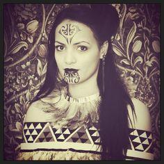 Maori portrait #Maori#tattoo