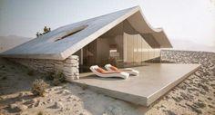 Small house on the beach.  ♥
