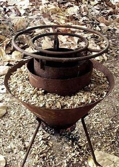 Mayon Turbo Stove filled with rice hull