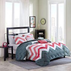 Intelligent Design Finley Comforter Set, Pink