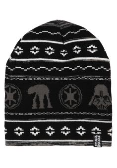 836eeee49e3 Galactic Empire Holiday Exclusive Black Knit Beanie