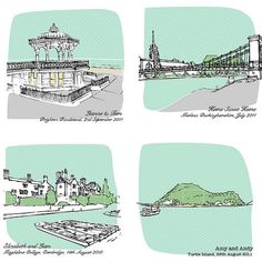 My Favourite Place Personalised Illustration