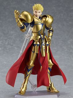 Pre-Order Release Date: January 2017 Mankind's oldest King of Heroes, joining the figma series at long last! From the popular smartphone game 'Fate/Grand Order' comes figma #300 - the oldest King of H