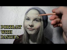 How I draw a portrait with pastels. - YouTube