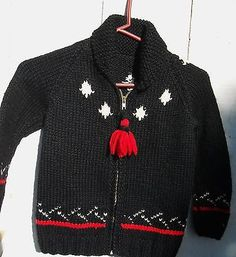Vintage Wool Kids Christmas Sweater