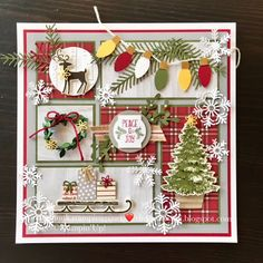 the crafty yogi: Stampin' Up! Display Stamper Post the crafty yogi: Stampin' Up! Christmas Paper Crafts, Christmas Projects, Handmade Christmas, Holiday Crafts, Christmas Diy, Stampin Up Christmas 2018, Christmas Punch, Christmas Pudding, Christmas Vacation