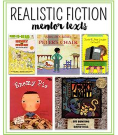 Writing Realistic Fiction in and Grade! – Susan Jones Do you teach how to write realistic fiction in your first or second grade classroom? See how this first grade teacher has students creating characters, writing chapter books, and having fun writing! Writing Mentor Texts, Narrative Writing, Writing Lessons, Fiction Writing, Teaching Writing, Teaching Ideas, Teaching Character, Writing Strategies, Informational Writing