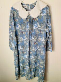 1391ea9cee508 Rare Vintage Dress Big Collar Fancy Plus Size 18 Plus Size 20
