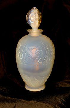 Vintage Sabino Art Glass Opalescent Crystal