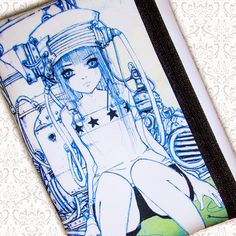 Tanpopo pouch Camilla d'Errico by HautTotes on Etsy, $17.75