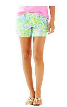 CALLAHAN SHORT MULTI COCONUT JUNGLE BY LILLY PULITZER
