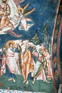 50 (4) Christian Artwork, Kirchen, Color Pallets, Vignettes, Fresco, Religion, Painting, Serbian, Christian Art