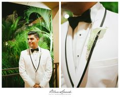 Grooms Bouttoniere photo by Blue Spark Photography