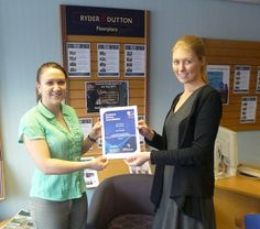 Rosie from Ryder & Dutton in Chadderton is celebrating after becoming an accredited Relocation Agent Specialist.  The accreditation was awarded by Relocation Agent Network and is achieved by completing a comprehensive online training programme, The Importance of Service.