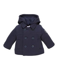JoJo Maman Bébé Navy Duffle Coat - Infant & Toddler | Coats Kid