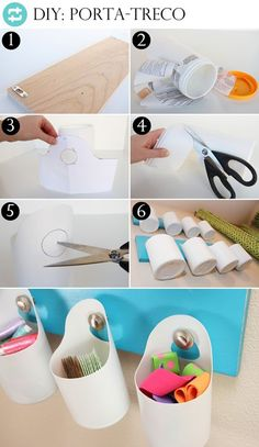 8 Ideias de Artesanato com Embalagens de Shampoo + Passo a Passo - - 8 Ideias de Artesanato com Embalagens de Shampoo + Passo a Passo Reciclagem Plastic Bottle Crafts, Diy Bottle, Recycle Plastic Bottles, Diy Upcycling, Diy Recycle, Diy Shampoo, Art N Craft, Diy Home Crafts, Space Crafts