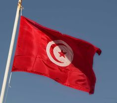 Soccer Nation Flag TUNISIA (3ft x 5ft, 150x90cm)