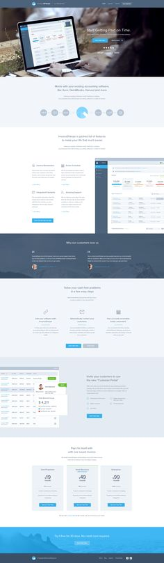 Invoice sherpa homepage real pixels