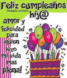 Frases y tarjetas para decir feliz cumpleaños hija (1)