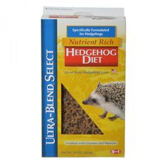 8 in 1 Ultra-Blend Nutrient Rich Hedgehog Diet