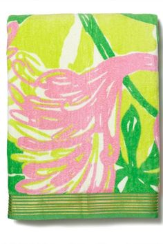 Every Single Piece From The Lilly Pulitzer x Target Collection #refinery29  http://www.refinery29.com/2015/04/84530/lilly-pulitzer-target-collaboration-lookbook#slide-141  Lilly Pulitzer for Target Beach Towel - Fan Dance, $25, available at Target.
