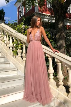 Sequin prom dresses - Deep V Sexy Chiffon Backless Maxi Dresses – Sequin prom dresses Sequin Prom Dresses, V Neck Prom Dresses, Backless Maxi Dresses, Maxi Robes, Grad Dresses, Sexy Dresses, Evening Dresses, Formal Dresses, Wedding Dresses