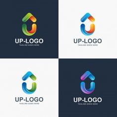 Letter U, Up logo design for your company.