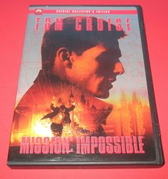 MISSION IMPOSSIBLE  (DVD COLLECTOR'S EDITION )Widescreen- TOM CRUISE Action EX #missionimpossible #tomcruise #action #espionage #thriller #Moviedvd http://stores.ebay.com/vinylrockretro/