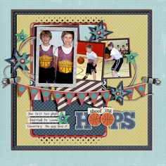 Everything found at Peppermint Creative:    Missy's Templates Set.6    Work It Paper and Element Pack  Sports Star Element Pack  Magnetic Poetry Sports (retired)