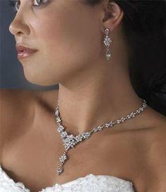 Bridal jewelry   #necklace #sparkle #princess