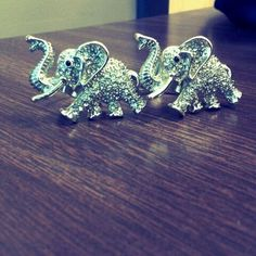 elephant rings from claires i would love to buy if it was earrings