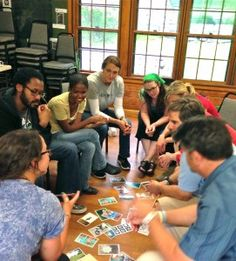 Using Metaphor to Build Community and Positive Climate – Postcard Strengths Activity. A recent post from the Inspired Educator Blog at experientialtools.com.