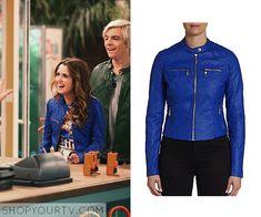 Austin & Ally: Season 4 Episode 1 Ally's Blue Leather Jacket