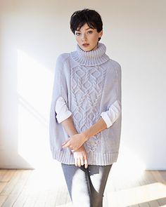 Sweater Cape pattern by Australian Superfine Merino