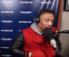 "Damian Lillard stopped by ""Sway In the Morning"" to show off his skills on the mic."