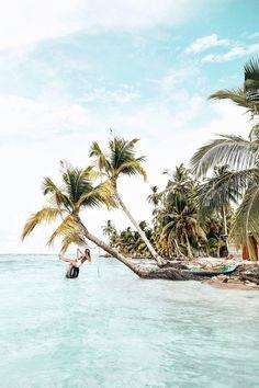 Panama travelguide. San blas island
